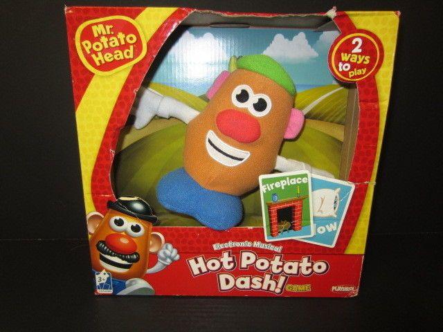 Mr. Potatoe Head Hot Potato Dash Electronic Musical New In Box 2 games in one #Playskool