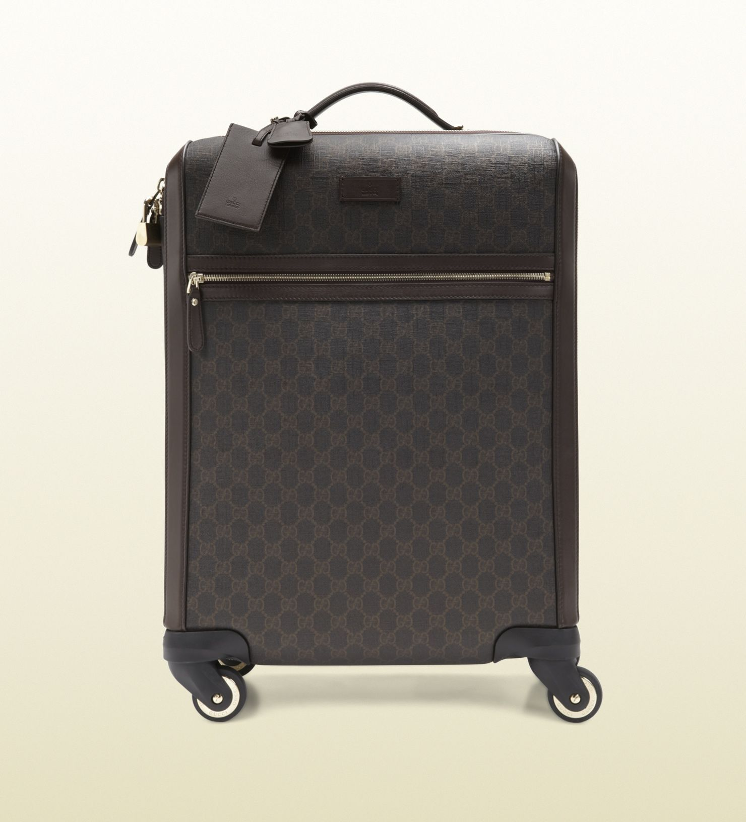 GG supreme canvas carry-on suitcase | Luggages | Pinterest ...
