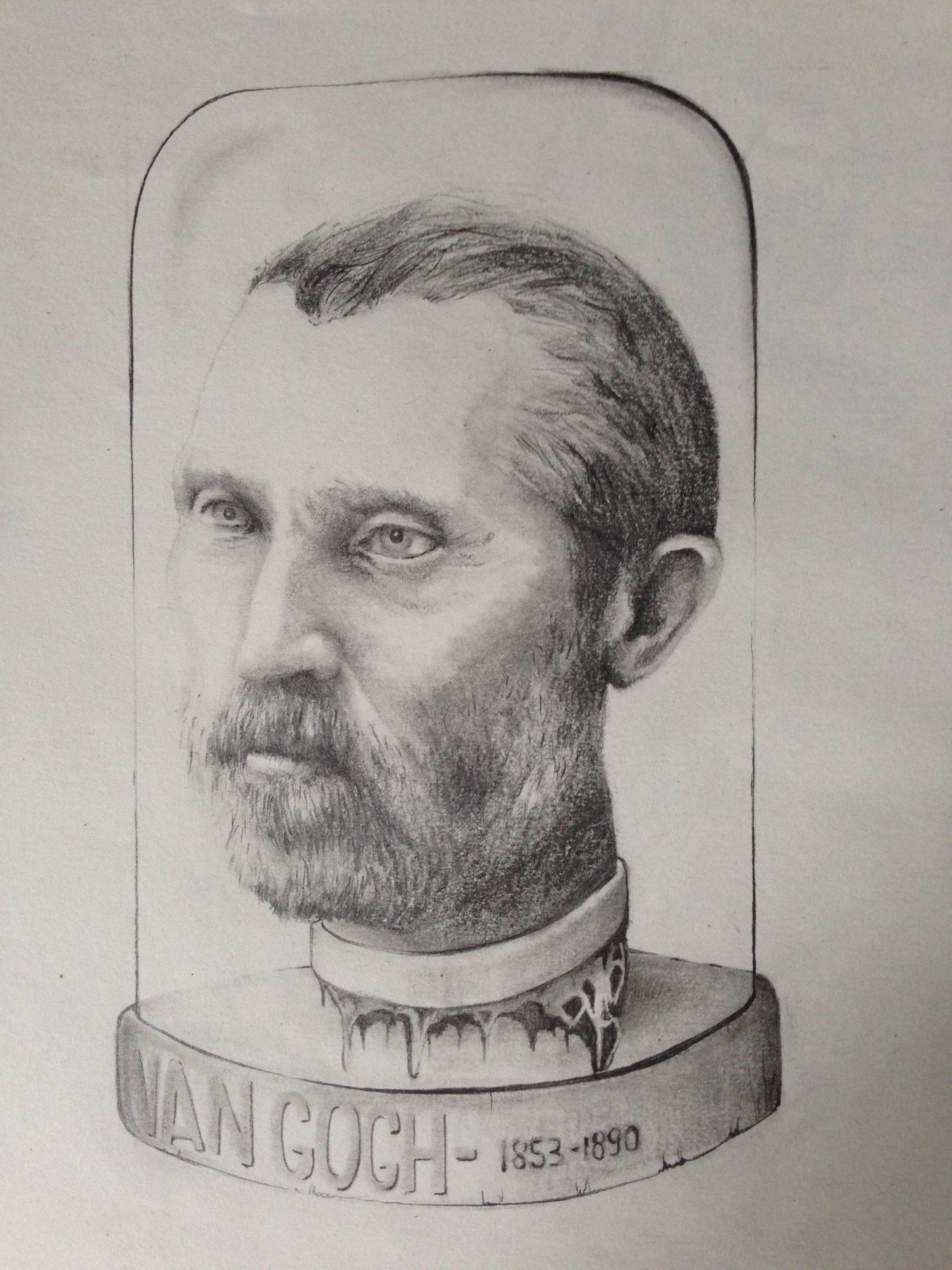 Van Gogh. Pencil