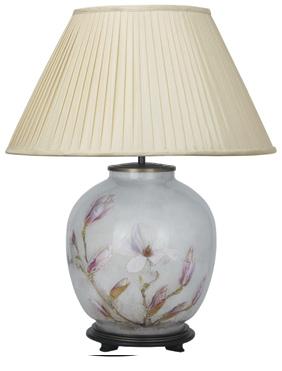 Jenny Worrall Lamp Jw39 Lamp Lamp Shade Table Flowers