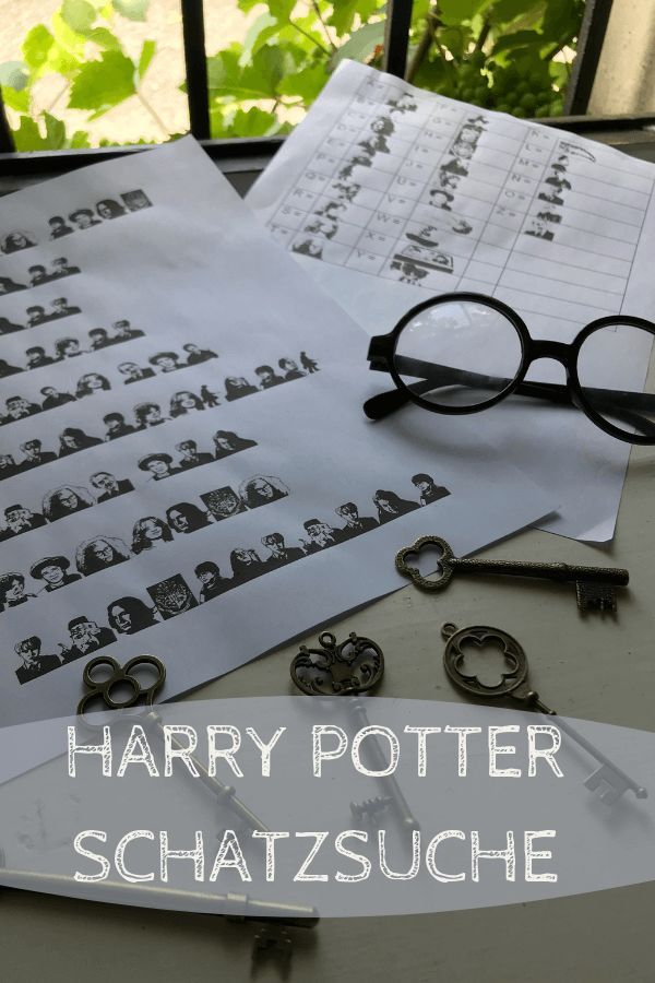 Photo of Schatzsuche für die Harry Potter Party