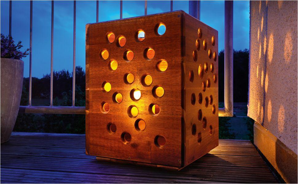 Windlicht Aus Holz Selber Bauen