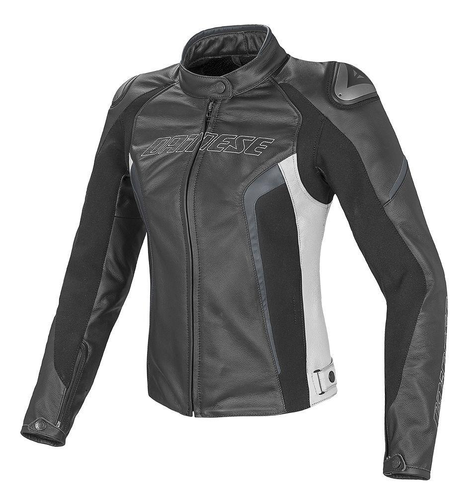 Dainese Racing 3 Perforated Women S Jacket Revzilla Leather Jackets Women Jackets For Women Leather Motorcycle Jacket Women