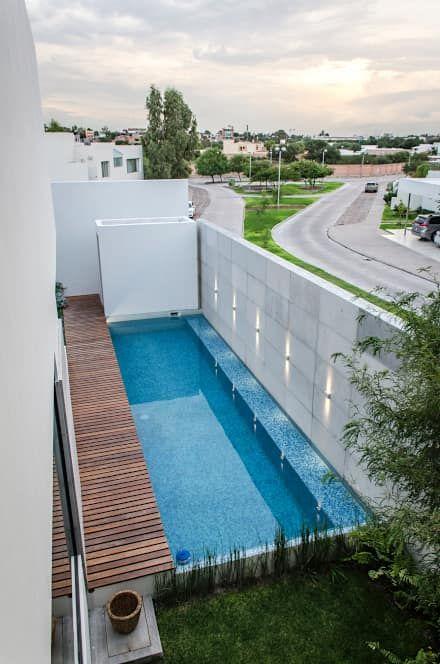Casa Maria / Arkylab: Albercas de estilo moderno por Oscar Hernández - Fotografía de Arquitectura