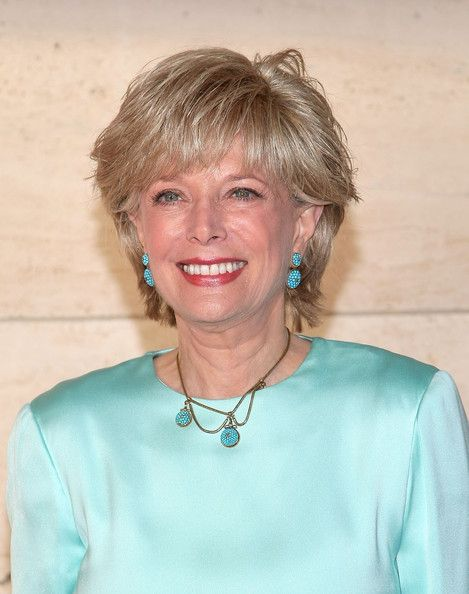 lesley stahl without wig view original image women news