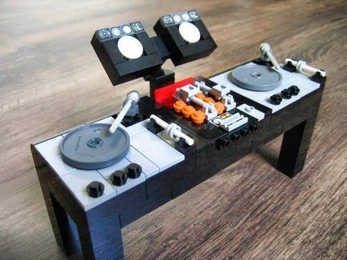 LEGO - DDJ-SX (Modern DJ Desk/Controller) [M.O.C] - YouTube