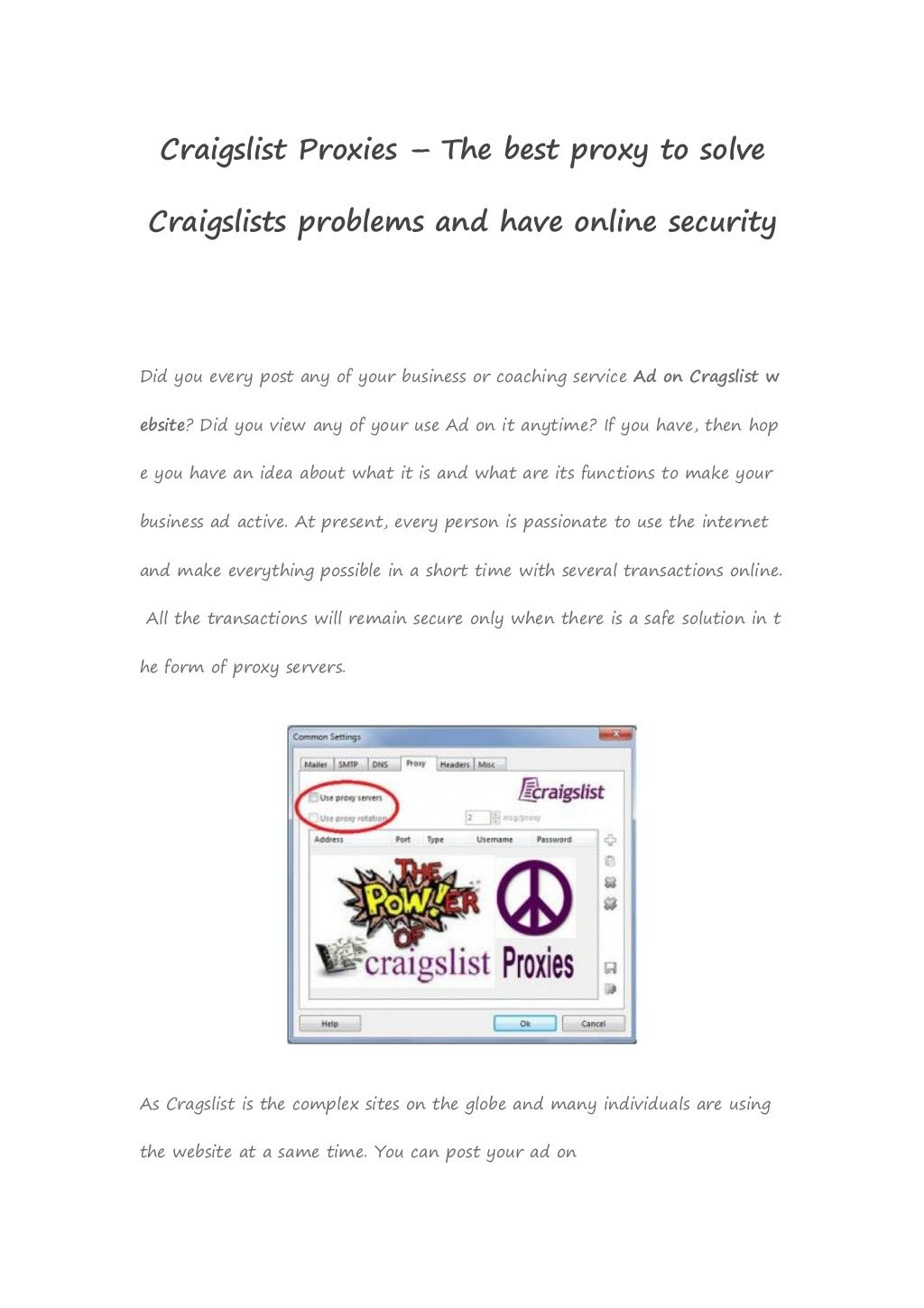 Pin by Best Paid Proxies on Other proxies | Online security, Good things