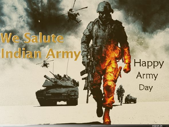 Happy Army Day Mizon Indian Army Army Indian Army Wallpapers