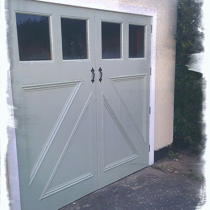 Chester Morris Ltd Bespoke Garage Doors Hand Painted In Farrow And Ball House Front Door Front Door Garage Doors
