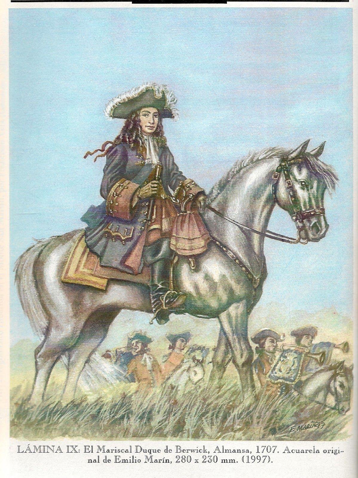 1707 - Berwick en Almansa.
