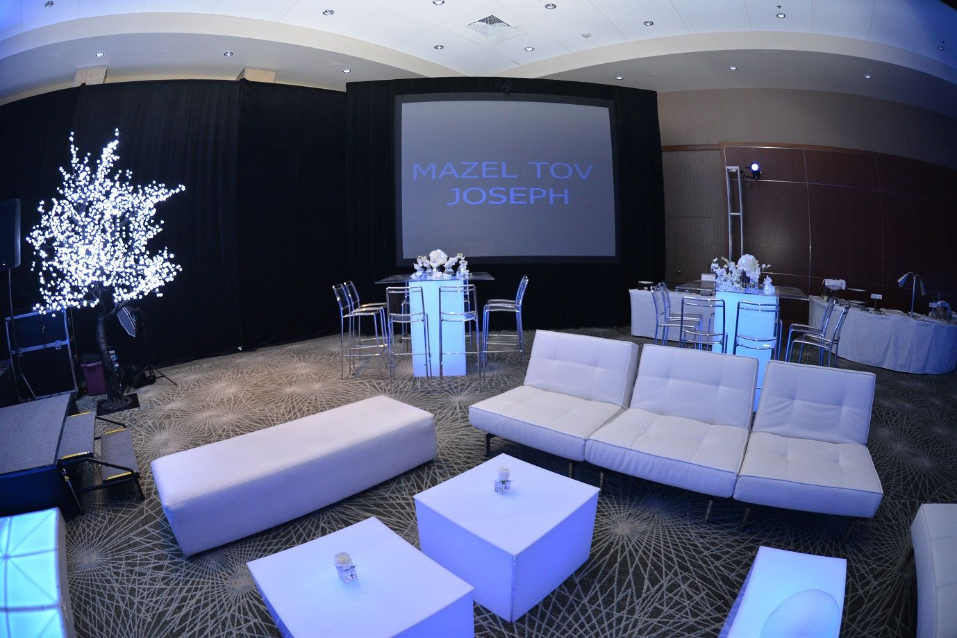 kool furniture. White Lounge Furniture From Kool Party Rentals And Black Draping PSAV  Creates A Dramatic Feel That Gets The Celebration Started! #westingaslampevents Kool