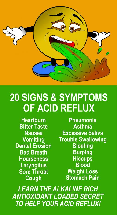 20 Signs & Symptoms Of Acid Reflux  Learn the acid reflux healing