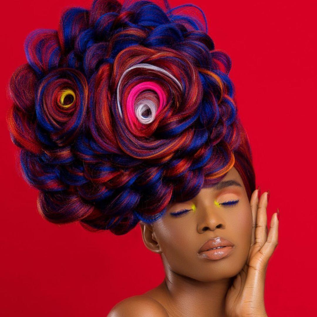 Pin On Avant Garde Hairstyles