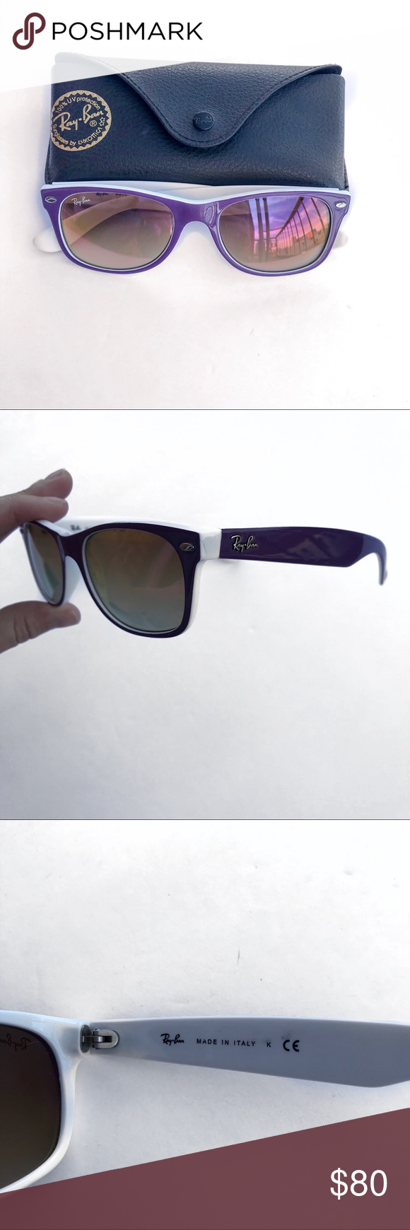 Ray Ban Wayfarer 52 Rayban Wayfarer Sunglasses Accessories Sunglasses Case