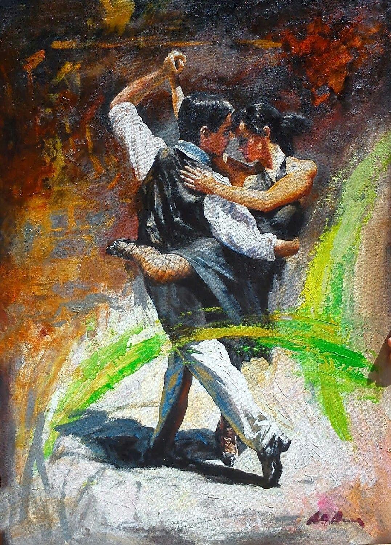 Картинки художников танцы дамы