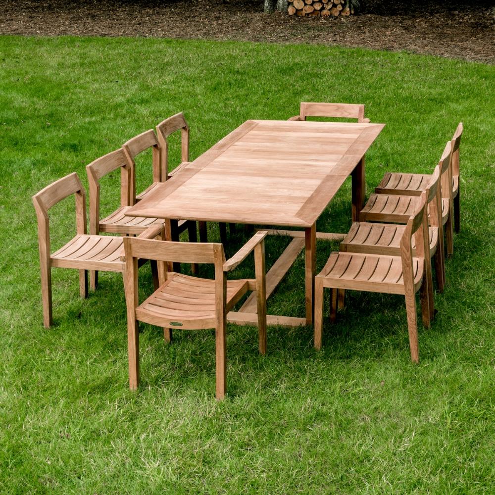 Horizon 11 Pc Teak Dining Set Westminster Teak Teak Outdoor Westminster Teak Teak Garden Furniture