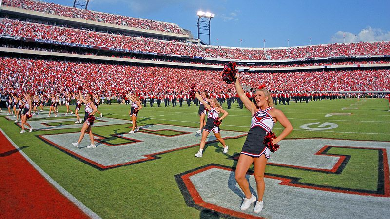 Pin by Brittany Fowler on misc Uga cheerleading