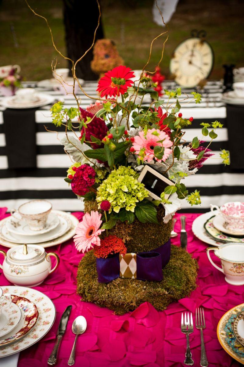 alice in wonderland themed bridal shower bridal shower