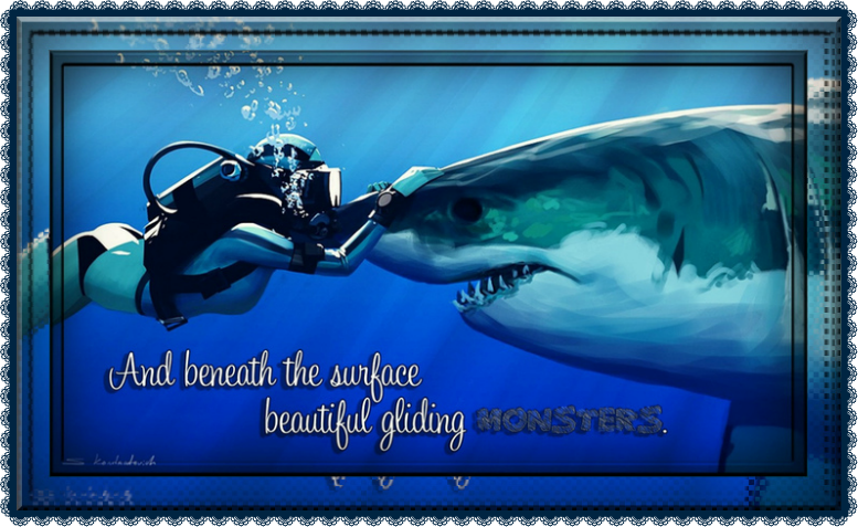 Great White Shark Quote | ❝QUOTES & GRAPHICS❞ | Pinterest ...