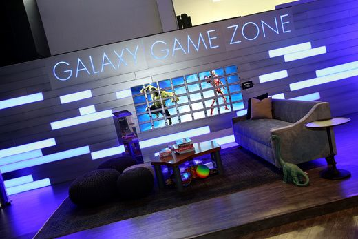 Kids Zone Galaxy Game Zone Samsung Studio La 2015 Exhibition