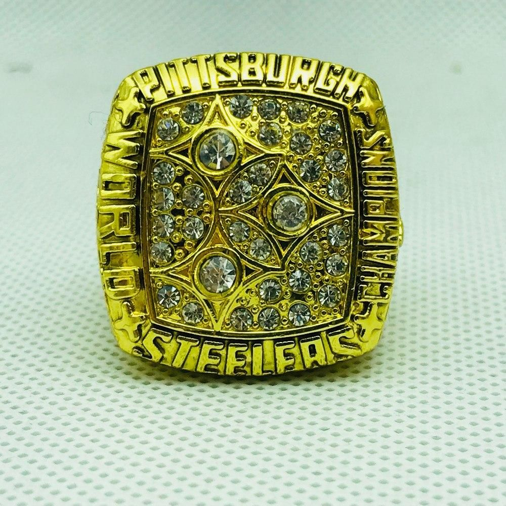 c32d4adb3 NFL Football  superbowl 1978  pittsburghsteelers Steelers  championship   rings Color Gold – 4 Fan Shop