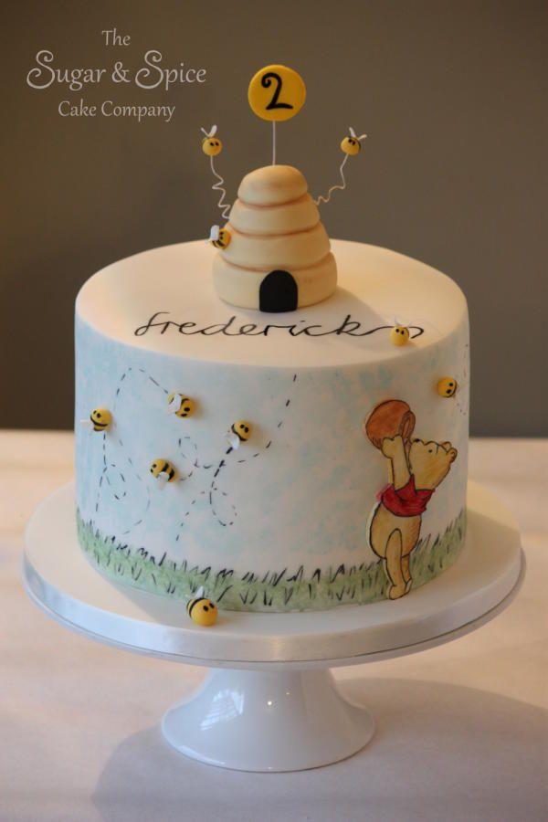 classic winnie the pooh birthday cake
