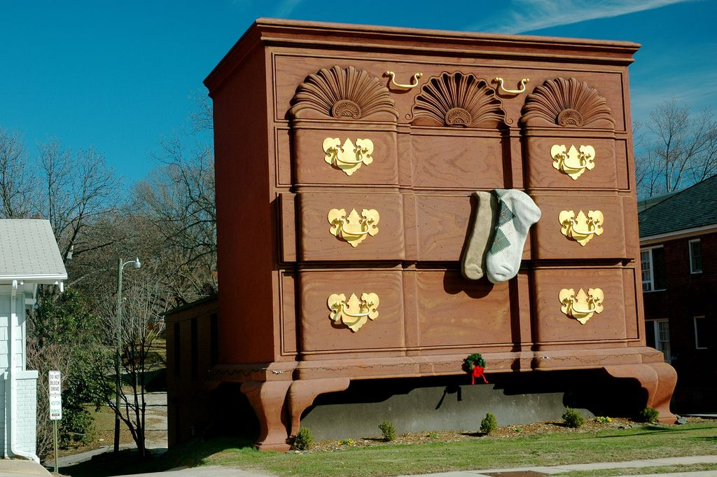 This Is The Original Worldu0027s Largest Chest Of Drawers In High Point, North  Carolina. Furniture ShoppingChest ...