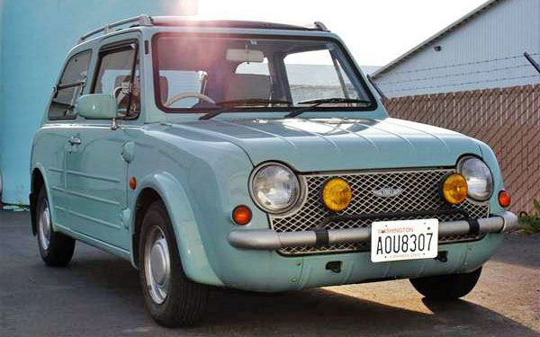Retro Before It Was Cool 1989 Nissan Pao Nissan Cute Cars Nissan Infiniti