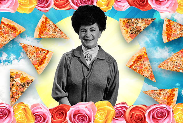 Say a thanks for Rose. Frozen pizza used to taste terrible. Then this sweetly badass nonna fixed it.
