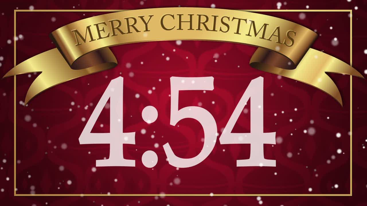 Christmas Countdown Screensaver