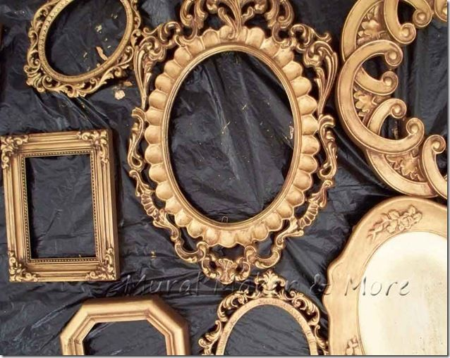 How To Paint An Antique Gold Faux Finish With Images