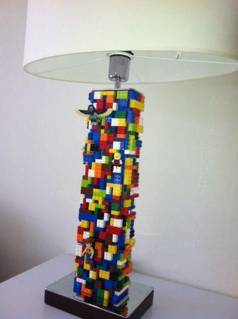 Cute DIY Mini Lego LED Lamps | Lighting | Pinterest | Lego ...
