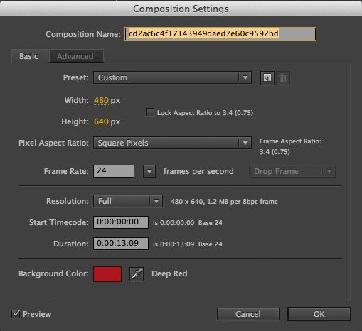 Photoshop settings for instagram