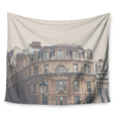 KESS InHouse London Town by Laura Evans Wall Tapestry Size: