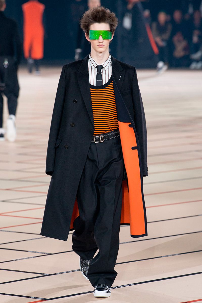 cbc3c1e473ef Kris Van Assche showed his Fall Winter 2017 collection for Dior Homme  during Paris Fashion Week.