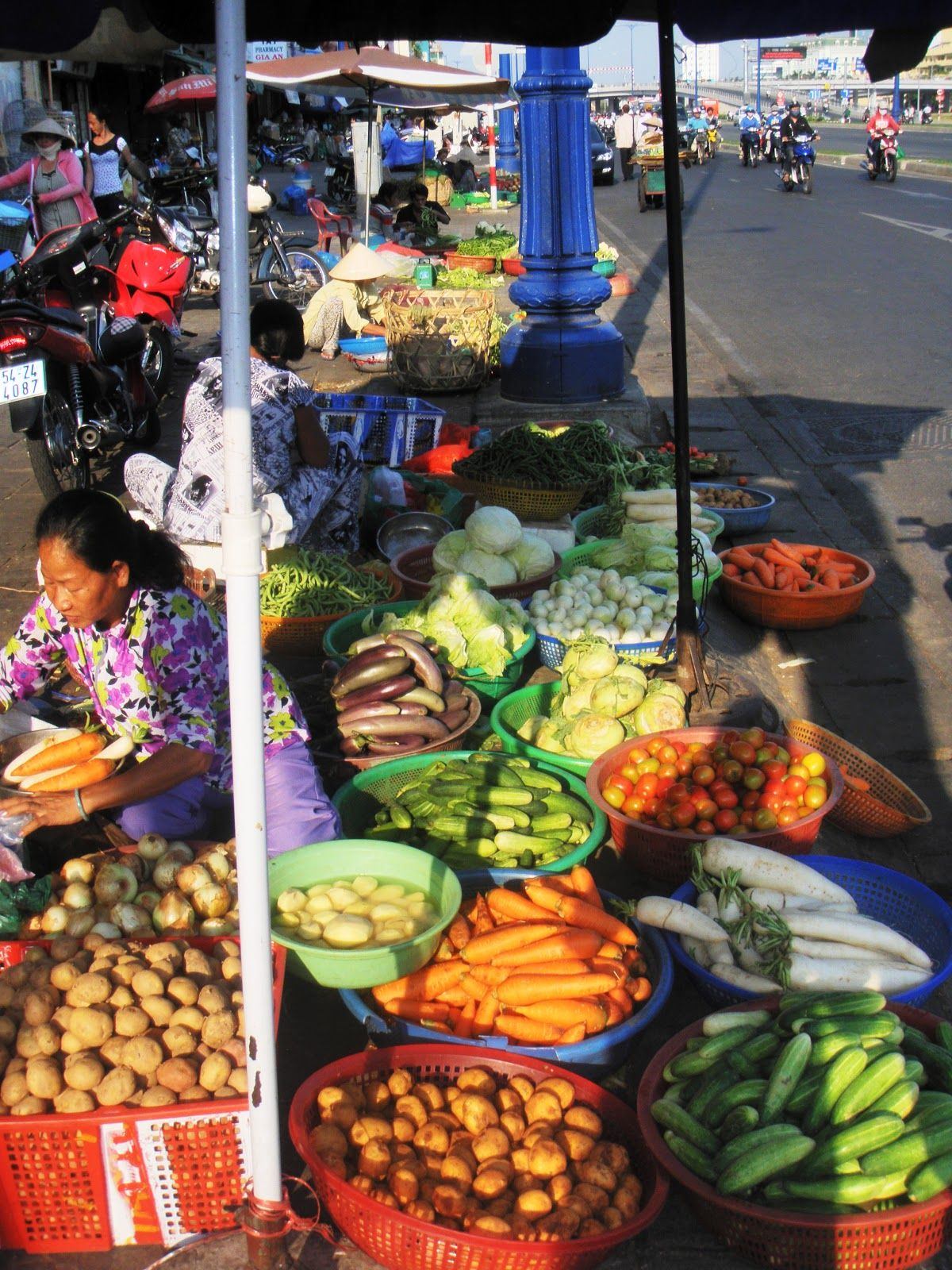 Food market in ho chi minh vietnam food market farmers