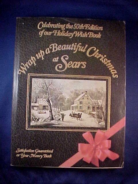 VINTAGE 1982 SEARS CHRISTMAS HOLIDAY WISH BOOK ~ TOYS