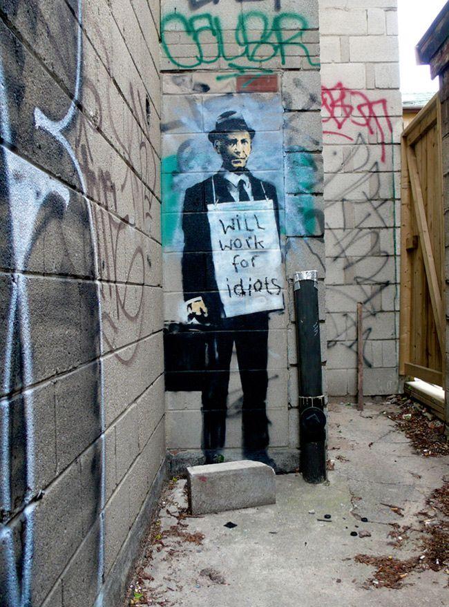 Banksy art turns up in Toronto in 2019 | Banksy | Street