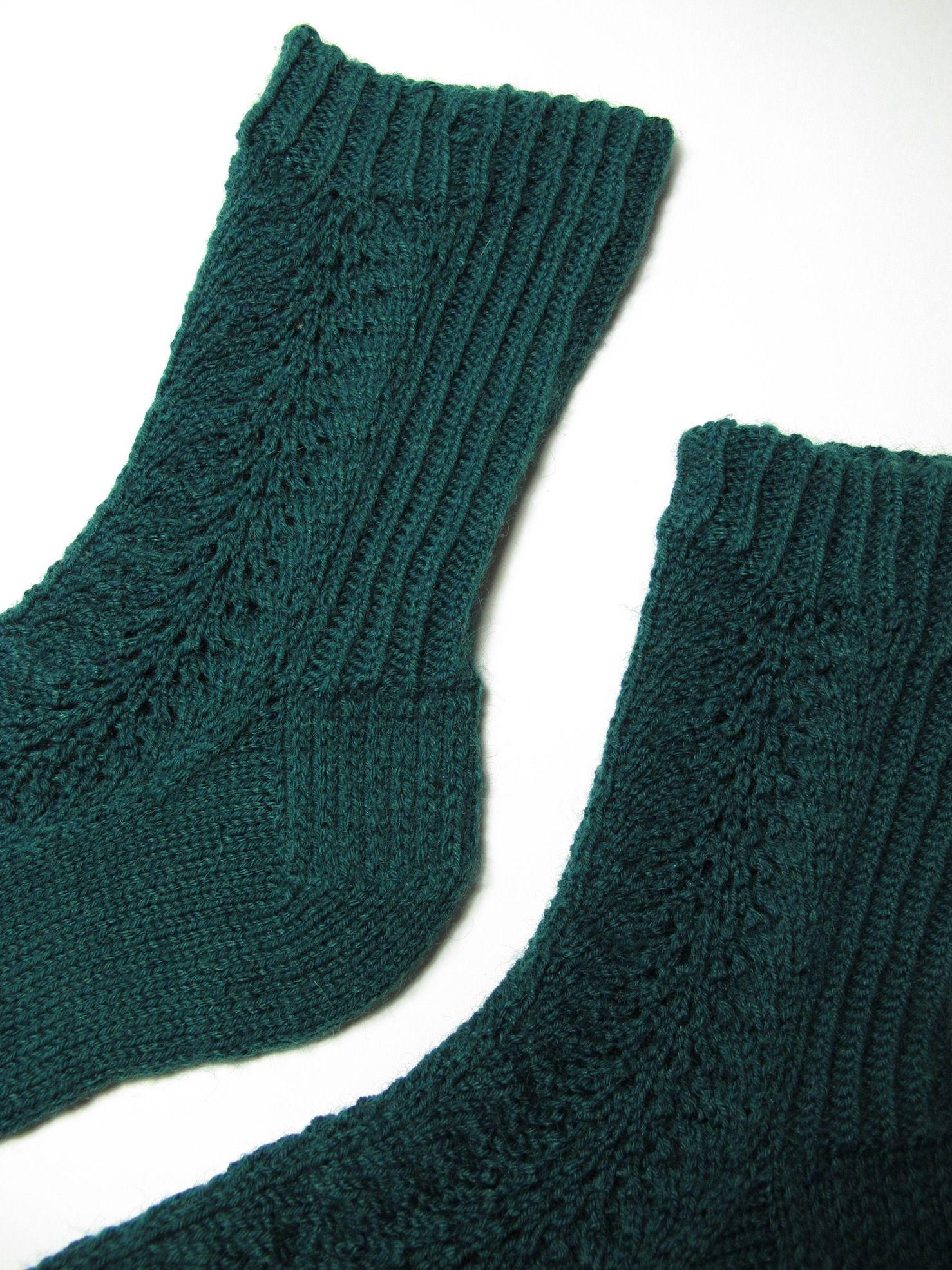 calcetines con calados \
