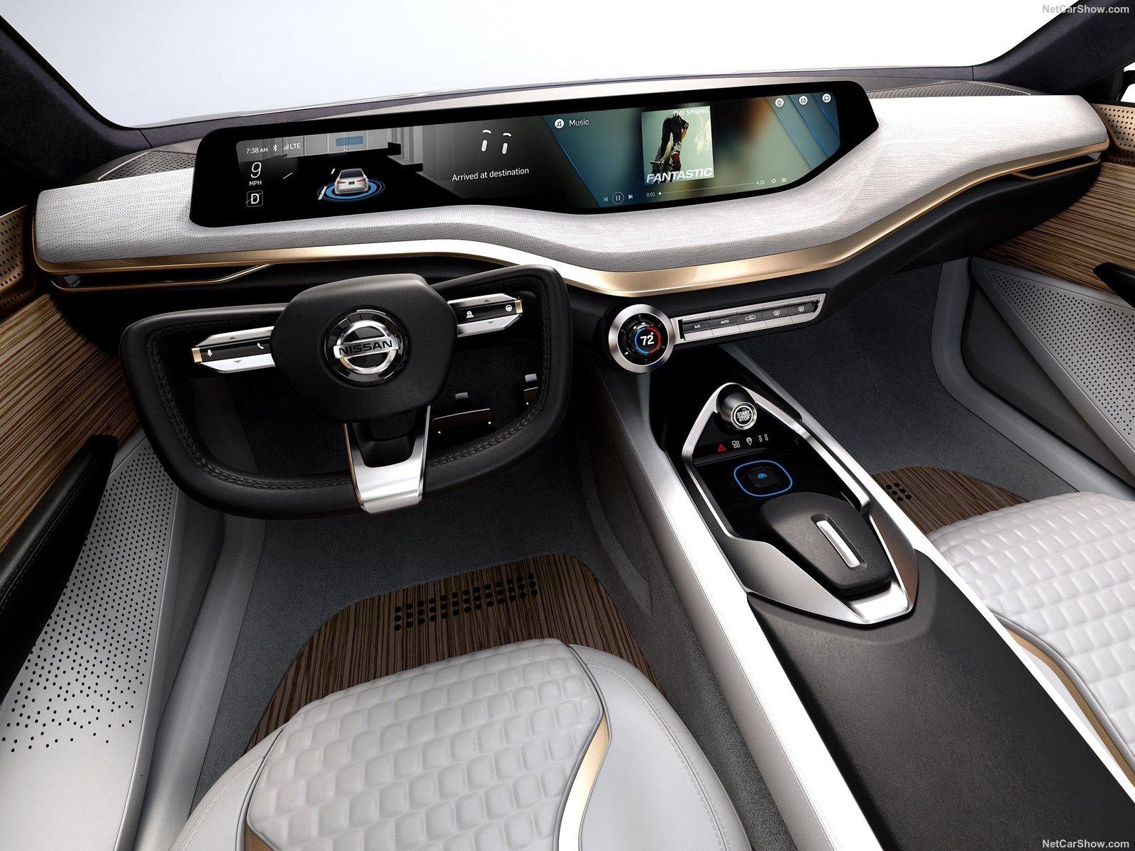 Modern UI Design of Automotive HMI