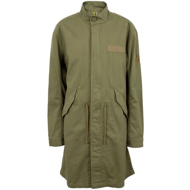 Green Deansgate Parka | Pretty Green | Designer fashion from Liam ...