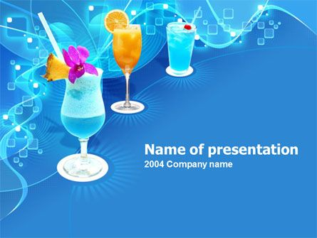 http://www.pptstar/powerpoint/template/party-cocktails/ party, Modern powerpoint