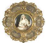 Bonhams : A Dresden cabinet plate