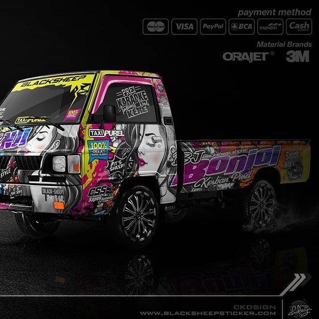 Ide Oleh Luis Rocha Pada Carros Modifikasi Mobil Mobil Stiker