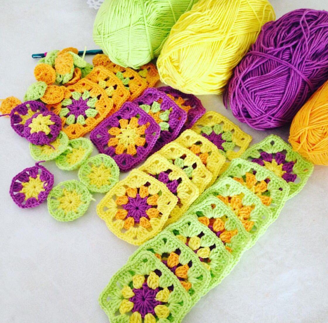 Battaniye   Crochet   Pinterest   Colchas, Ganchillo y Puntos