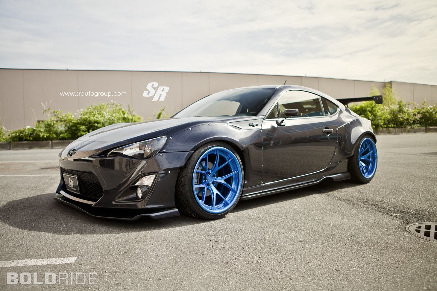 Sr auto group scion fr s rocket bunny custom widebody tuner car