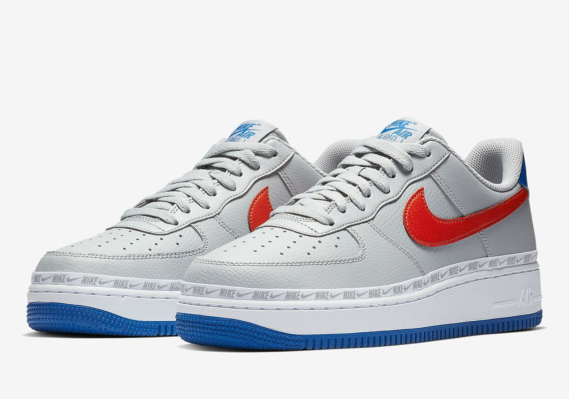 The Ribboned Nike Air Force 1 Arrives In Knicks Themes Nike Air