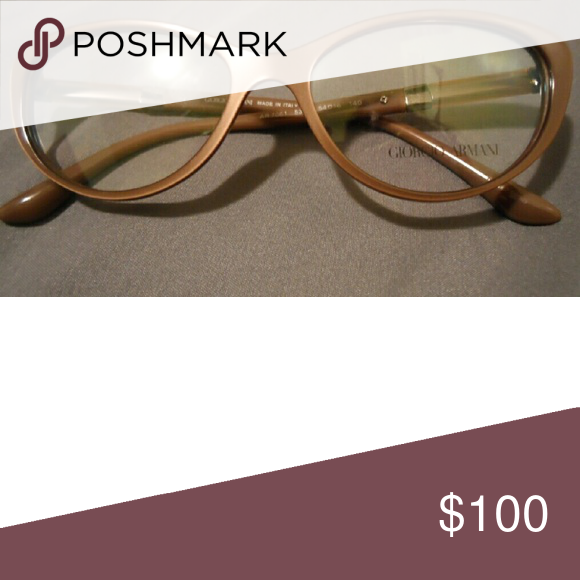 Georgio Armani frames Cat-eye games, medium cool toned brown Georgio Armani  Accessories Glasses