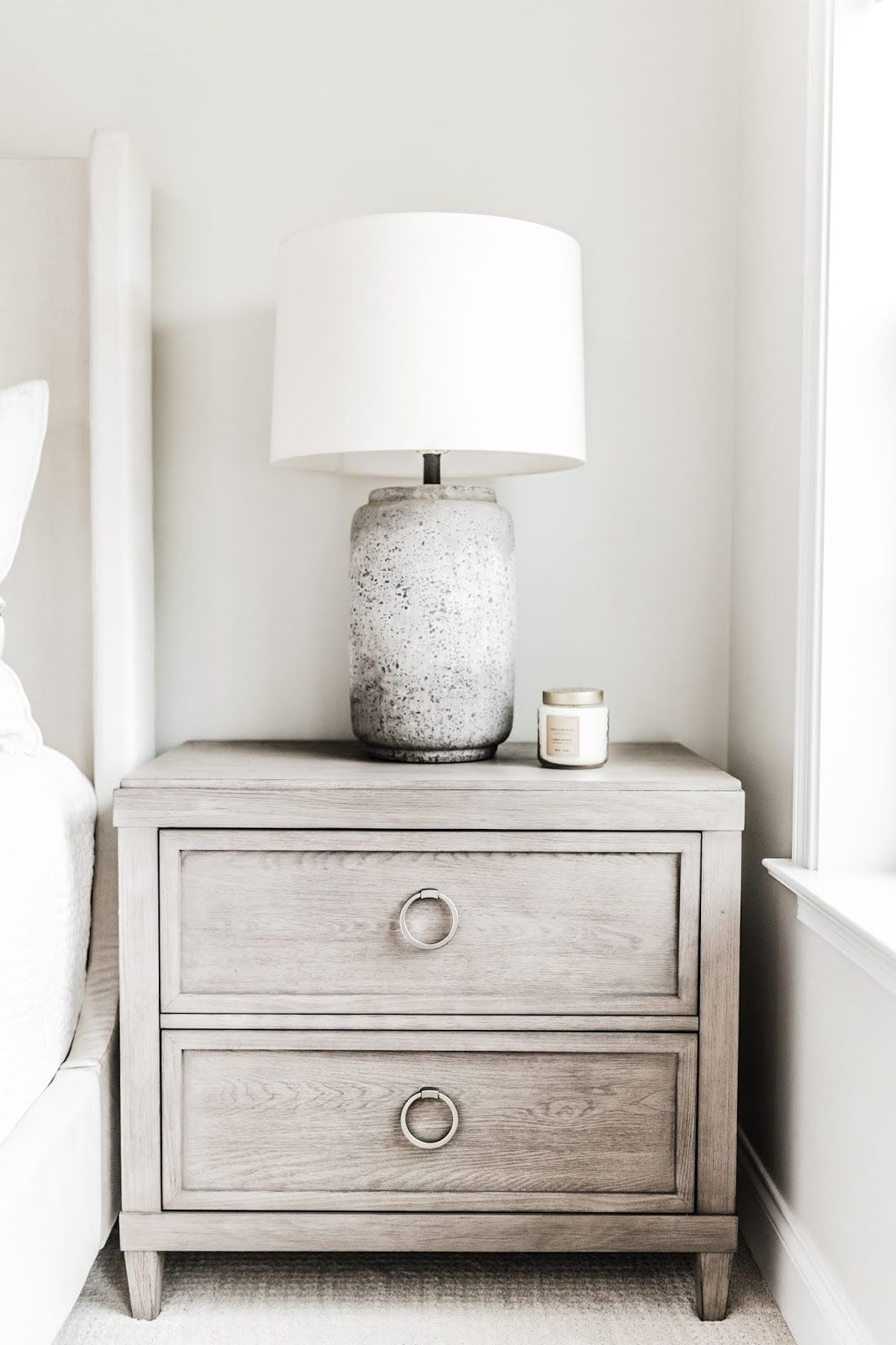 Just A Quaint Little Corner Featuring Our Ventura Drawer Chest And The Devereux Table Lamp I Rustic Chic Bedroom Bedroom Decor Design Master Bedrooms Decor