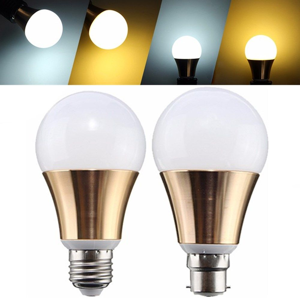 Ampoule Led E27 Dimmable Non Dimmable E27 B22 9w 5730 Smd Bayonet Gloden Led Light Globe